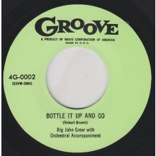 "JOHN GREER ""BOTTLE IT UP & GO/ COME BACK MAYBELLINE"" 7"""