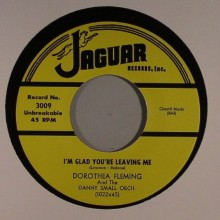 "DOROTHEA FLEMING ""THE DEVIL IS MAD / I'M GLAD YOU'RE LEAVING ME"" 7"""