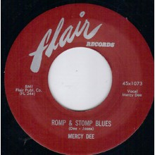 "MERCY DEE ""ROMP & STOMP BLUES / OH OH PLEASE"" 7"""