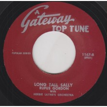 "RUFUS GORDON ""LONG TALL SALLY"" / CHUCK LOVETT ""SHORT FAT FANNIE"" 7"""
