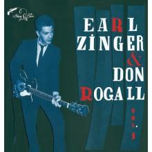 "EARL ZINGER & DON ROGALL ""VOLUME 1"" 10"""