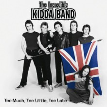 """INCREDIBLE KIDDA BAND """"TOO MUCH TOO LITTLE..."""" DO LP"""