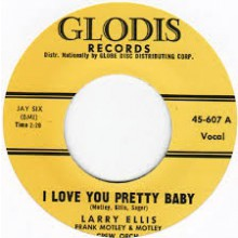 "AL GARRIS ""That's All"" / Larry Ellis ""I Love You Pretty Baby"" 7"""