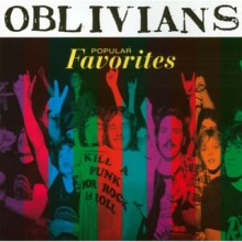 "OBLIVIANS ""POPULAR FAVORITES"" lp"