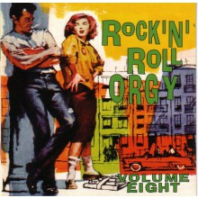 ROCK'N'ROLL ORGY VOLUME 8 CD