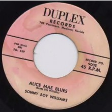 "SONNY BOY WILLIAMS ""Alice Mae Blues/Opossum Rock"" 7"""