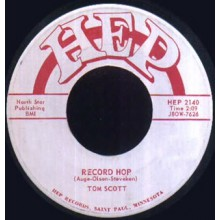 TOM SCOTT Record Hop / Meaning Of The Blues