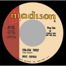 "BRICE COEFIELD ""CHA CHA TWIST/ TEMPTED"" 7"""