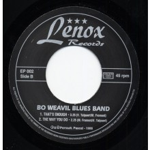 "BO WEAVIL BLUES BAND ""BIG CITY BLUES"" 7"""