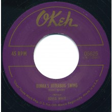 "BUKKA WHITE ""BUKKA'S JITTERBUG SWING / GOOD GIN BLUES"" 7"""