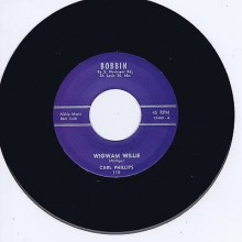 "Carl Phillips ""Wigwam Willie/Walkin' Blues"" 7"""