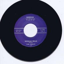 """Carl Phillips """"Wigwam Willie/Walkin' Blues"""" 7"""""""