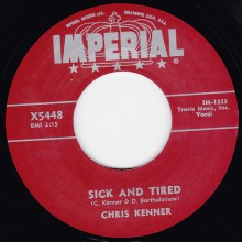 "CHRIS KENNER ""SICK & TIRED"" / ERNIE FREEMAN ""DUMPLIN'S"" 7"""