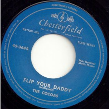 "COCOAS ""FLIP YOUR DADDY/ OOOOO! OOOOO!"" 7"""