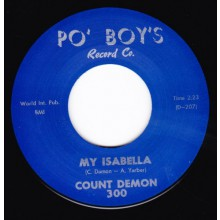 """COUNT DEMON """"MY ISABELLA / I DON'T BELIEVE"""" 7"""""""
