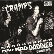 """CRAMPS """"M-M-M-M-M-M-M-M-M-M MAD MAD DADDIES (Live at Napa State Hospital)"""" LP"""