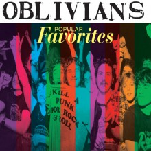 "OBLIVIANS ""POPULAR FAVORITES"" cd"