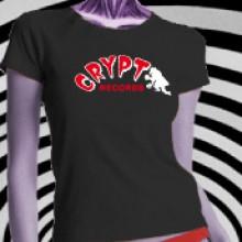 CRYPT LOGO - GILRIE Shirt - Black