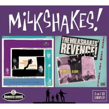 "MILKSHAKES ""Thee Knights Of Trashe & Revenge"" CD"