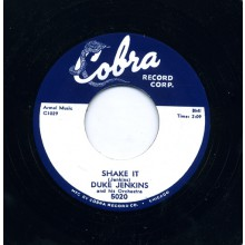 "DUKE JENKINS ""THE DUKE WALKS / SHAKE IT"" 7"""