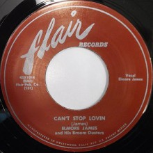 "ELMORE JAMES ""CAN'T STOP LOVIN / MAKE A LITTLE LOVE"" 7"""