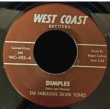 "FABULOUS SILVERTONES ""DIMPLES/MIDNIGHT THUNDER"" 7"""