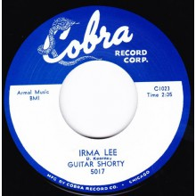 "GUITAR SHORTY ""IRMA LEE / YOU DON'T TREAT ME RIGHT"" 7"""