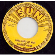 "HARDROCK GUNTER ""GONNA DANCE ALL NIGHT / FALLEN ANGEL"" 7"""