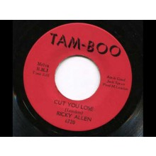 "RICKY ALLEN ""CUT YOU LOOSE / SOUL STREET"" 7"""