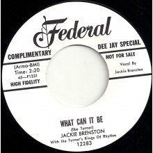 "JACKIE BRENSTON ""GONNA WAIT FOR MY CHANCE / WHAT CAN IT BE"" 7"""
