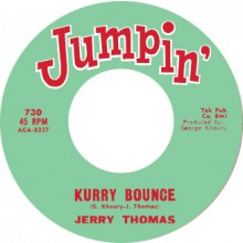 "JERRY THOMAS ""KURRY BOUNCE"" / D.C. WASHINGTON ""THE MOHAWK"" 7"""