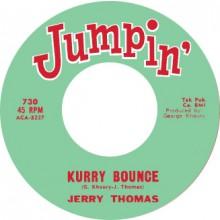 "JERRY THOMAS ""KURRY BOUNCE"" / D.C. WASHINGTON ""THE MOHAWK"" 7"""
