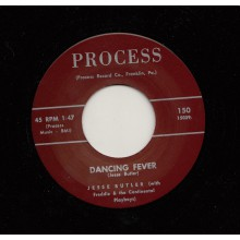 "JESSE BUTLER ""DANCING FEVER / TEAR DROPS AND PENNIES"" 7"""