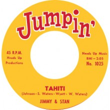 "JIMMY & STAN ""TAHITI"" / 'BABY' EARL & THE TRINIDADS ""BACK SLOP"" 7"""