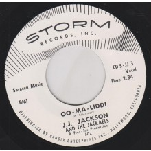 "J.J. JACKSON ""OO MA LIDDI / LET THE SHOW BEGIN"" 7"""