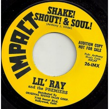 """LIL' RAY """"SHAKE! SHOUT! & SOUL! / SOUL & STOMP"""" 7"""""""