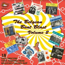 BELGIAN BEAT BLAST Volume 2 LP