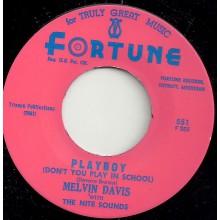 "MELVIN DAVIS ""PLAYBOY / I WON'T BE YOUR FOOL"" 7"""