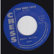 "MUDDY WATERS ""YOU NEED LOVE"" / HOWLIN' WOLF ""HIDDEN CHARMS"" 7"""