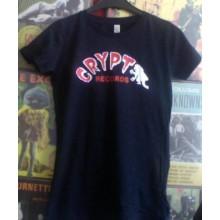 CRYPT LOGO - GILRIE Shirt - dark navy blue -M