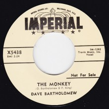 "DAVE BARTHOLOMEW ""THE MONKEY / THE SHUFFLIN' FOX"" 7"""