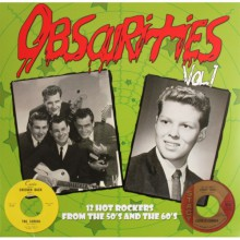 "OBSCURITIES ""Volume One: 12 Hot Rockers From The 50s and 60s"" 10"""