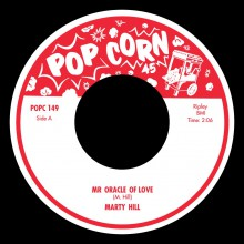 "MARTY HILL ""Red Lips / Mr Oracle Of Love"" 7"""