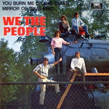 "WE THE PEOPLE ""You Burn Me Up And Down"" EP (black vinyl)"