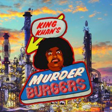 """KING KHAN """"King Khan's Murder Burgers"""" LP"""