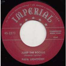 "PAPA LIGHTFOOT ""JUMP THE BOOGIE / WHEN THE SAINTS GO MARCHING IN"" 7"""