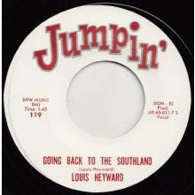 "LOUIS HEYWARD ""GOING BACK TO THE SOUTHLAND"" / THE HI TENSIONS ""SO FAR AWAY"" 7"""
