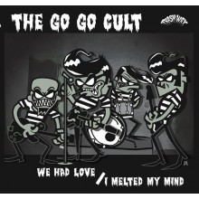 "GO GO CULT ""We Had Love"" 7"""