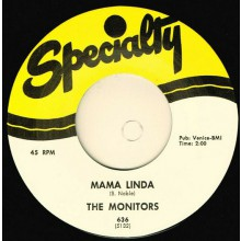 "MONITORS ""MAMA LINDA / HOP SCOTCH"" 7"""