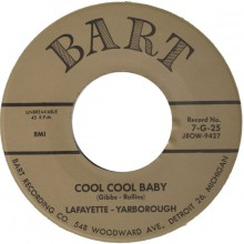 "Lafayette Yarborough ‎""Cool Cool Baby/Livin' Doll"" 7"""
